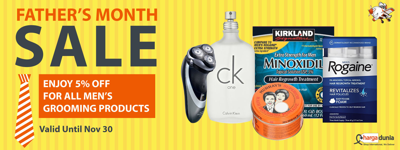 FATHER'S MONTH SALE!